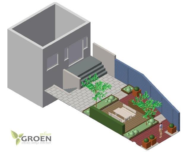 hovenier tuinontwerp groen-plus horst limburg