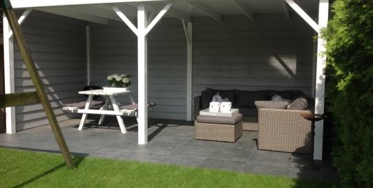 Aanleg tuin Velden met overkapping (4)
