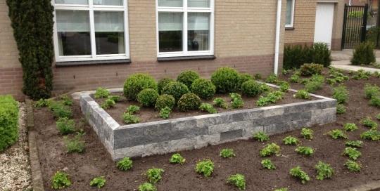 Minimalistische tuin Horst (3)